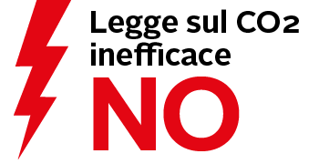 Legge sul CO2 NO Logo